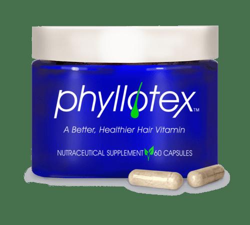 Phyllotex Jar with 2 capsules