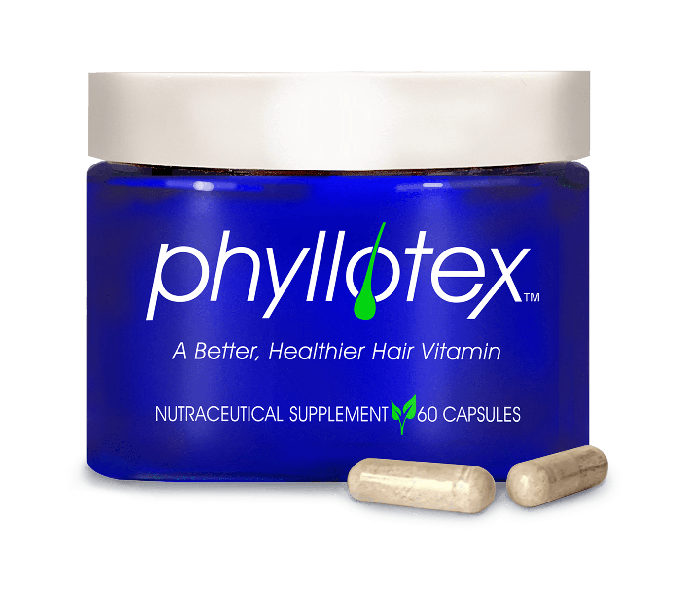 Phyllotex Jar with 2 capsules